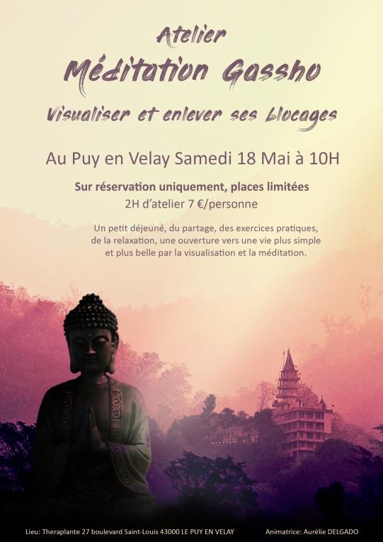 Affiche atelier méditation